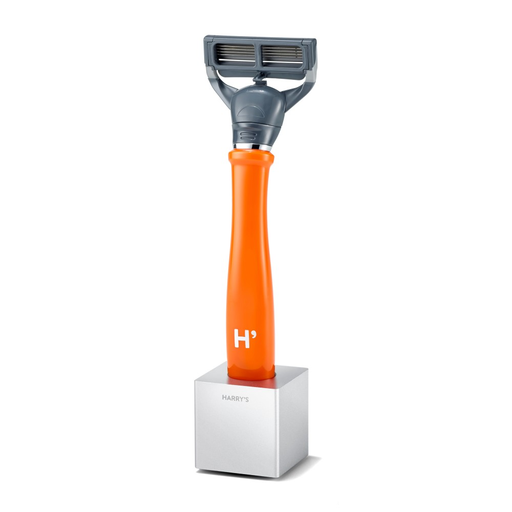 Harrys-Razor-Stand-with-orange-handle