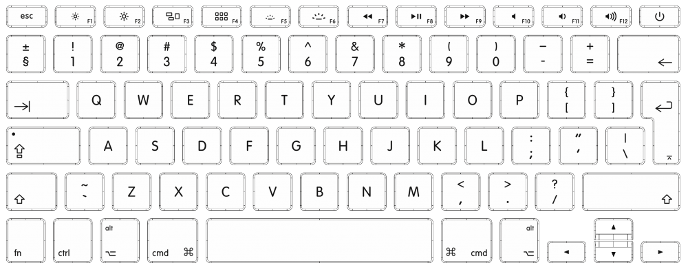 Apple Keyboard English International