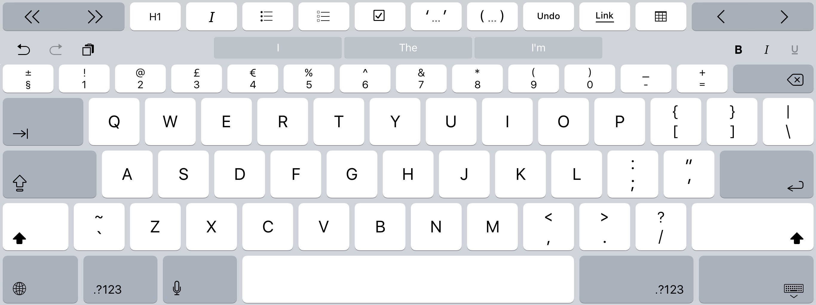 Thoughts on the iPad Pro On-Screen Keyboard | Infinite Diaries