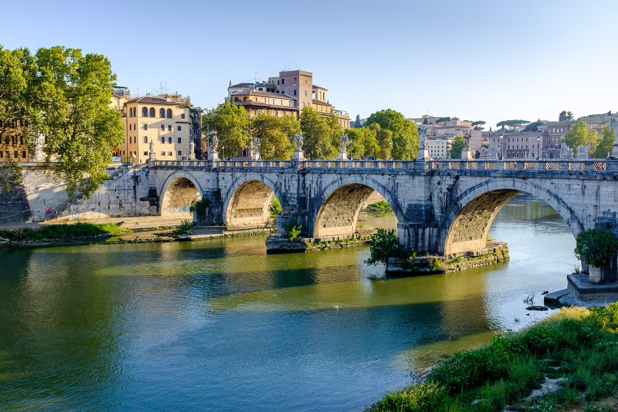 My Photography (2) — Ponte Sant'Angelo, Rome, Italy, 2015
