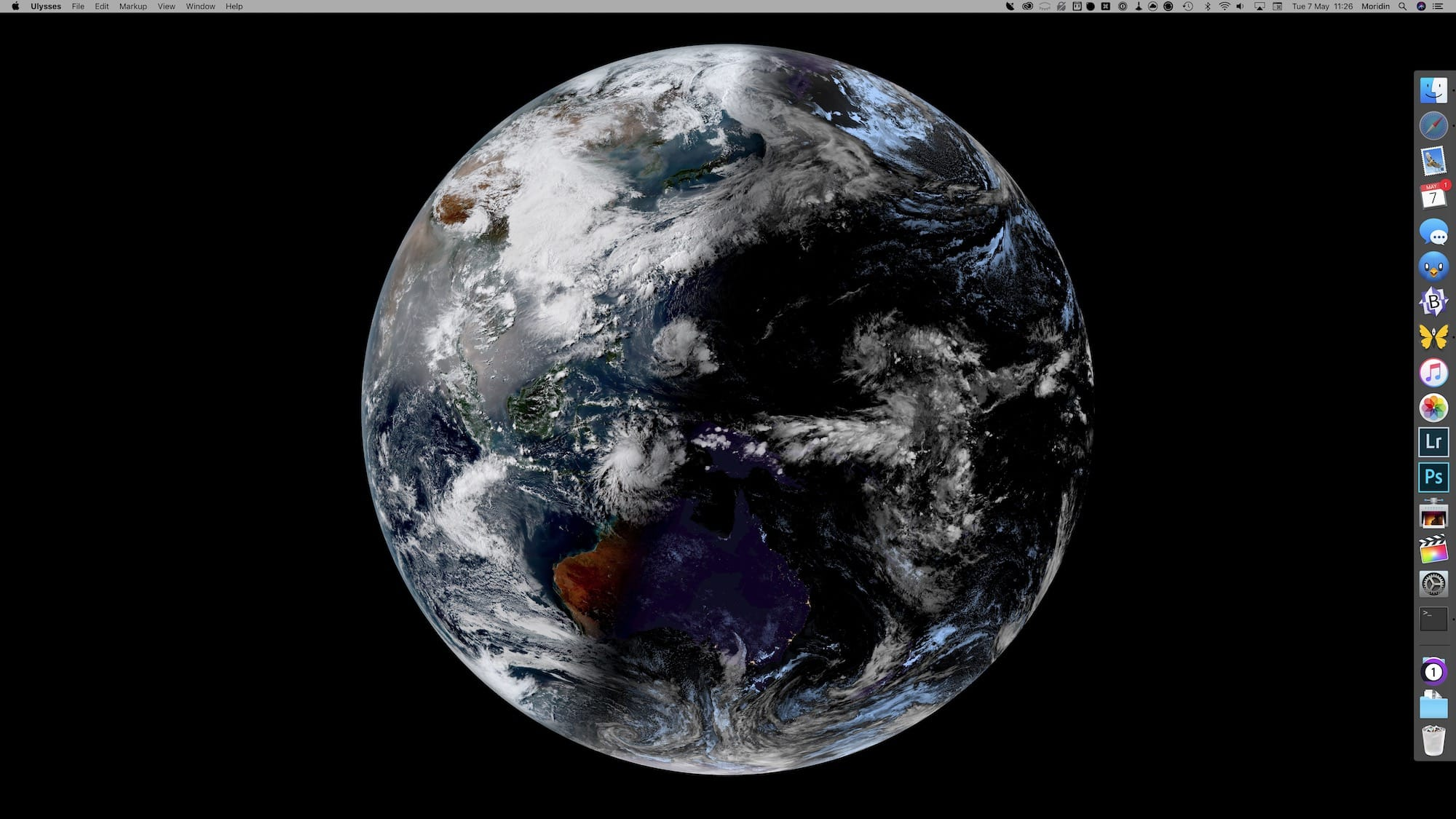 Real-Time Satellite Imagery on Your Mac Desktop | Infinite Diaries