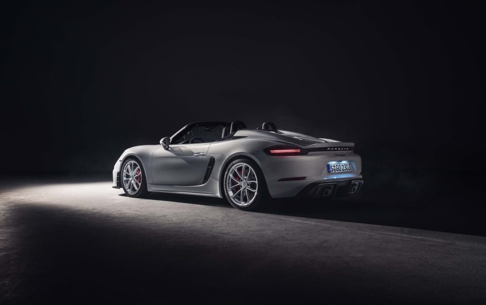 Porsche 718 Boxster >> The 2020 Porsche 718 Boxster Spyder and 718 Cayman GT4 [gallery & wallpapers] | Infinite Diaries