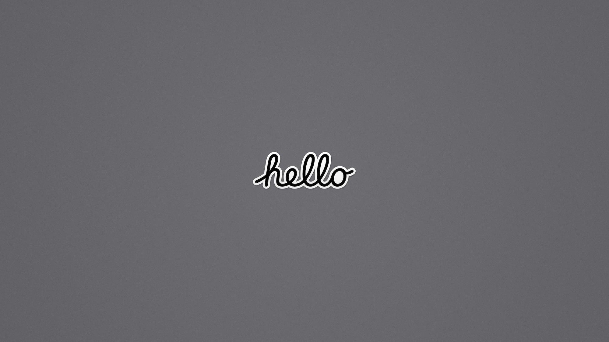 WWDC 2020 Background Hello Dark hero